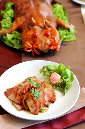 China barbacoa de cerdo Foto de archivo - 12007693