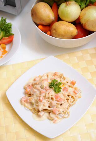 Spaghetti alla Carbonara photo