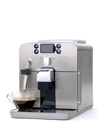 espresso machine: coffee machine
