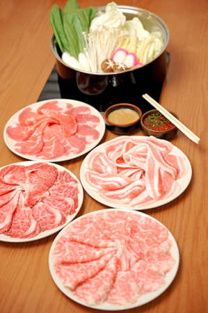 raw pork meat photo