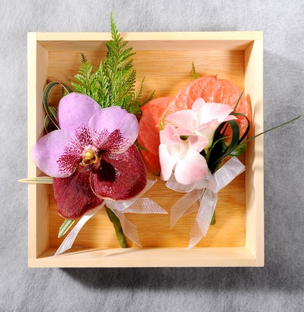 beautiful flower corsage photo