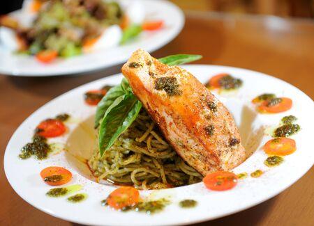 spaghetti fish Stock Photo - 12826535