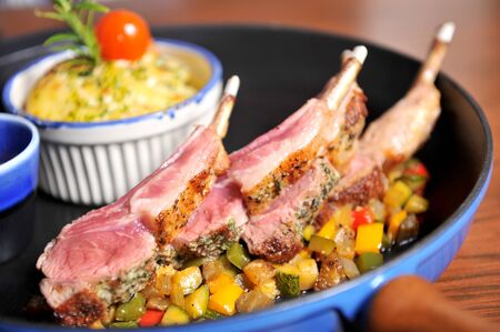 rack of lamb photo
