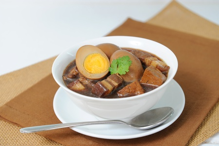 pork stew with egg