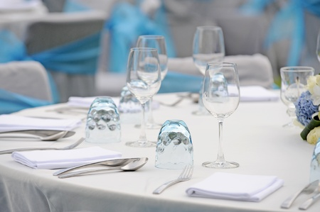 Fancy table set for a wedding Stock Photo - 13343259