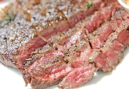 seared: sirloin steak