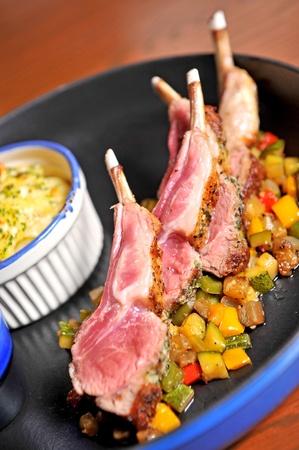 Roasted Lamb Chops photo