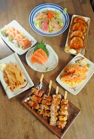 Delicious Japanese food photo
