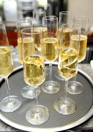 alcoholic beverage: Champagne