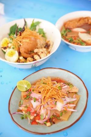 set of Thai spicy photo