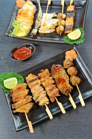japanese grilled food photo
