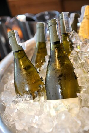 champagne celebration: Champagne Bottle Stock Photo