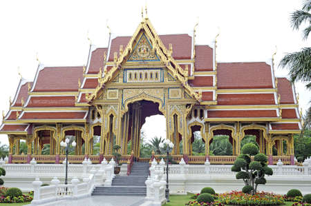 rajasuda: temple in thailand - public area Stock Photo