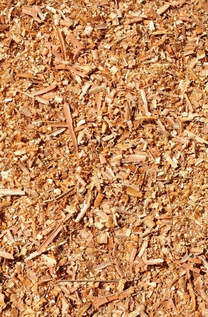 background of sawdust photo