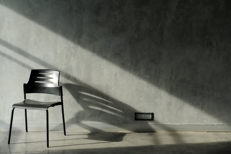 chairs and wall