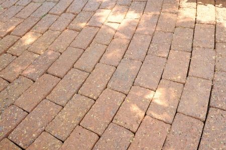 clean street: Stone pathway Stock Photo