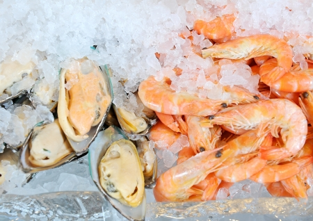 fresh seafood Stock Photo - 15099480