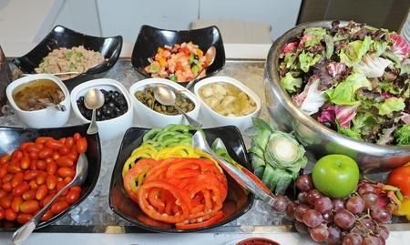 cornsalad: salad bar