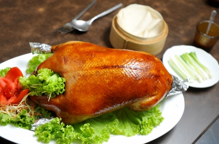 Roast duck photo