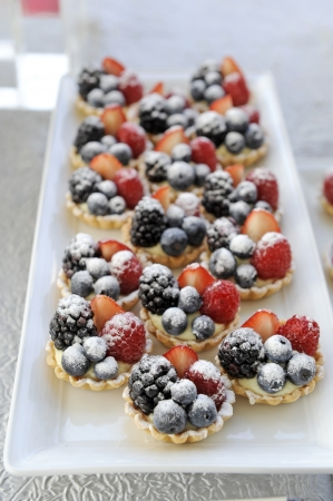 fruit tart photo