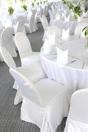 Wedding table Foto de archivo
