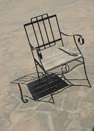 iron chair photo