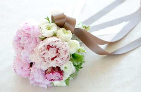 wedding flowers: The bouquet Stock Photo