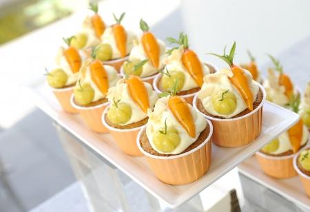 carrot cake: Carrot Cupcakes