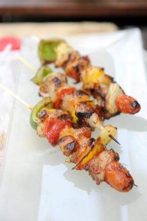 shishkabab: BBQ grill