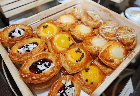 danish puff pastry: dessert Stock Photo