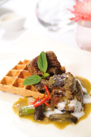 favorite soup: thai mix food