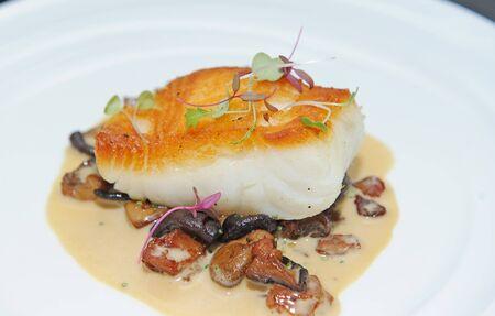 gill: fish steak Stock Photo