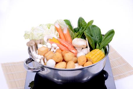 샤브샤브 - 일본 음식 스톡 콘텐츠