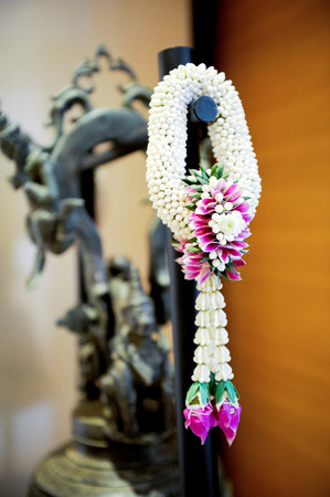 necklace of flower