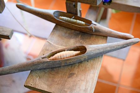 bobbin: wood bobbin - handmade