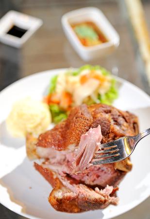 German BBQ pork