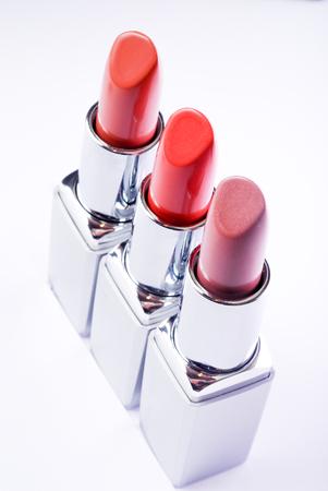 Set of color lipsticks -  Red