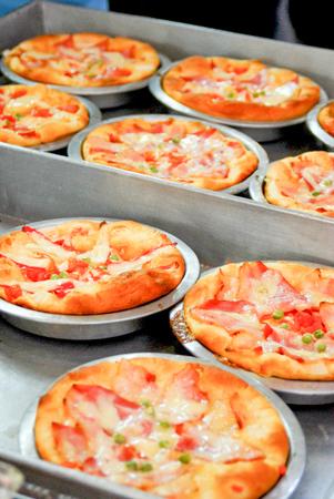 Delicious italian ham with Stock Photo