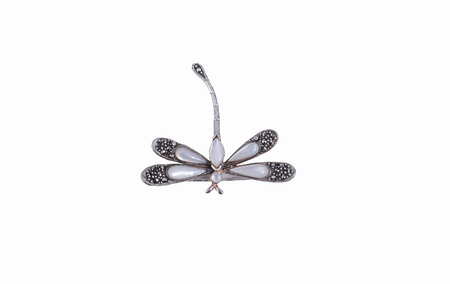 brooch in the shape of dragonfly