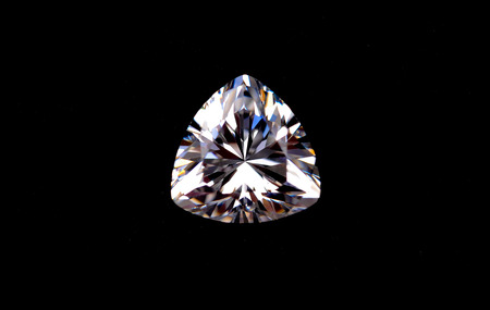 brilliants or diamond shaped Stockfoto