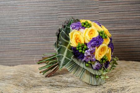 colorful Fresh flowers bouquet