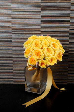 large of yellow bouquet