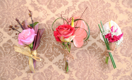 wedding corsages for wedding day