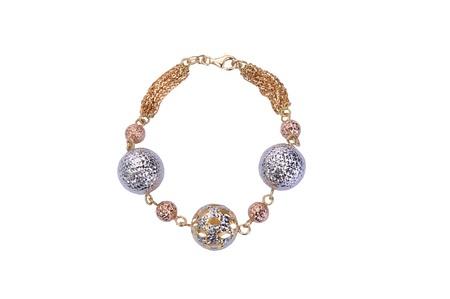 jewelry bracelet isolated on white background Stockfoto