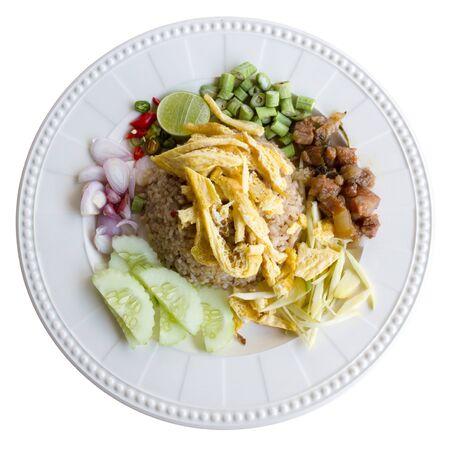 ka: Kao Cluk Ka Pi Mixed Cooked Rice with Shrimp paste