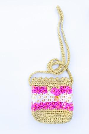 roped off: crochetbag