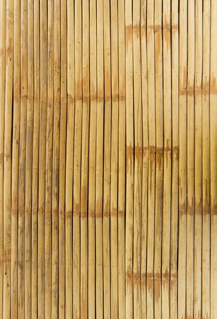 Patroon van bamboeachtergrond in bruine kleur. Stockfoto