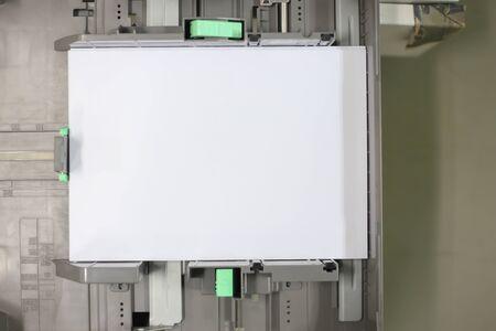 scaner: paper in printer