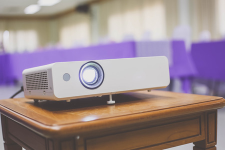 projector in conference room