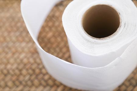 tissue paper roll Archivio Fotografico